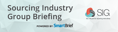 Sourcing Industry Group Briefing powered by SmartBrief