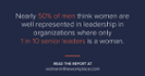 Survey: Men's, women's views differ on gender diversity success in the workplace