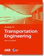 ASCE Transportation journal