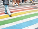 Iowa city says its rainbow crosswalks will stay