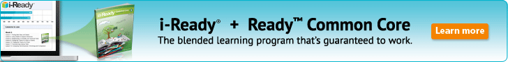 Blended Learning from Curriculum Associates. i-Ready + Ready Common Core is the blended learning program that's guaranteed to work.