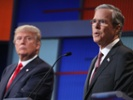 Donald Trump, Jeb Bush at the Aug. 6 GOP debate