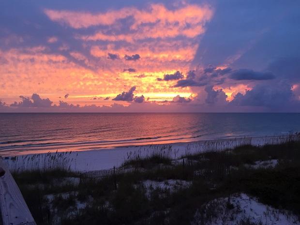 Sunset in ... northwest Florida