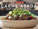Chipotle's loyalty members get first dibs on carne asada