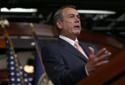 John Boehner Holds Weekly Media Briefing At Capitol