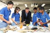 UK Prime Minister David Cameron Visits Singapore