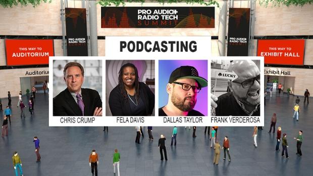 Podcasting Pros Ready for Pro Audio & Radio Tech Summit