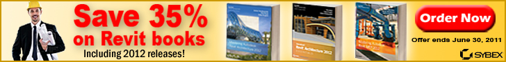 Save 35% on Revit Books from Sybex