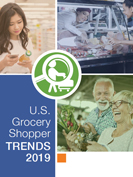 How do consumers approach grocery shopping?