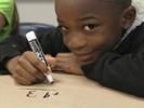 How does memorization affect math test scores?