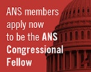 ANS Congressional Fellow application deadline extended to May 17