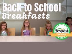 Family meals' newest spokespeople: kids!