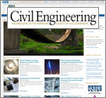 ASCE Civil Engineering magazine online