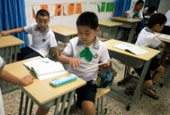 Classroom in Shanghai, China