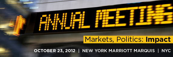 See all the highlights from the SIFMA annual Meeting: http://www.sifma.org/events/2012/sifma_2012_annual_meeting/highlights/