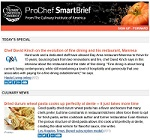 Stay on top of industry news with ProChef SmartBrief