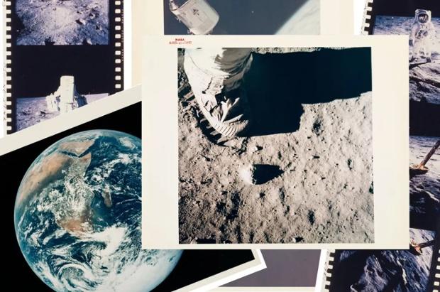 Archivist's vintage 'Images of Apollo' photo prints land on auction