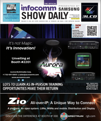 Read the InfoComm Show Daily