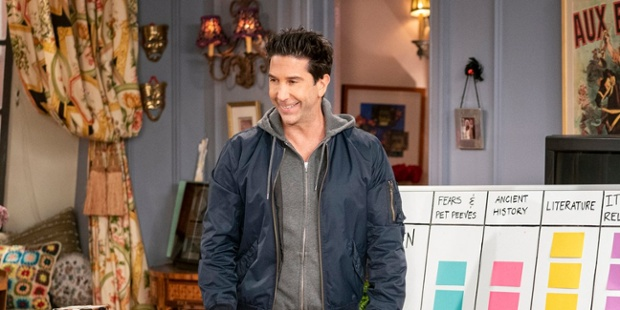 One Darling Friends: The Reunion Moment David Schwimmer Pointed Out That Fans Probably Missed