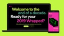"""Spotify reveals a decade's listening data with """"Wrapped"""""""