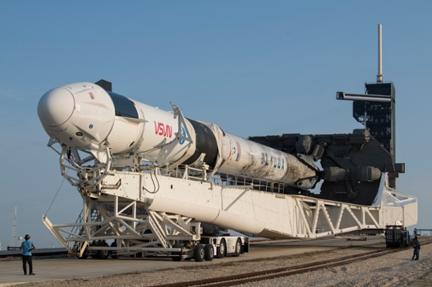 SpaceX faces possible liquid oxygen shortage for rocket fuel amid pandemic