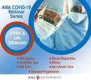 Free ANA COVID-19 webinars helping you