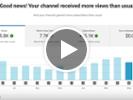 YouTube updates Creator Studio insights, livestream promo
