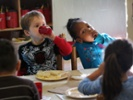 District's free meal program exceeds expectations