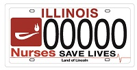 Coming to Illinois in 2018! Nurse Plates will finally be available next year!