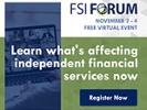FSI Forum: Now VIRTUAL + FREE!