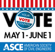 ASCE member? Be sure to vote in the Society election