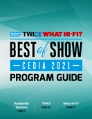 Best of Show Program Guide for CEDIA Expo 2021
