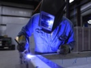 Welding students complete campus projects