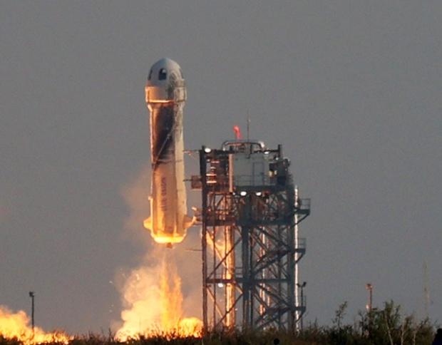 Jeff Bezos' Blue Origin targeting Aug. 25 for next spaceflight