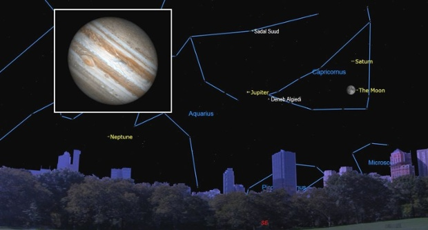 See Jupiter at its biggest and brightest this week