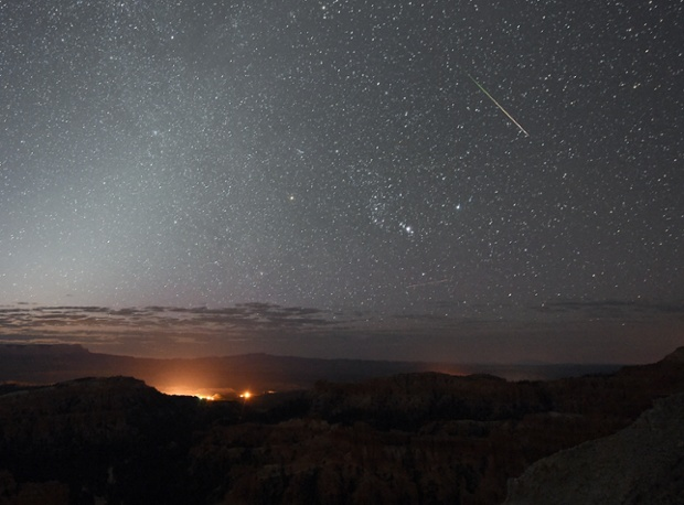 Perseid meteor shower peak this month! New moon bodes well for skywatchers.