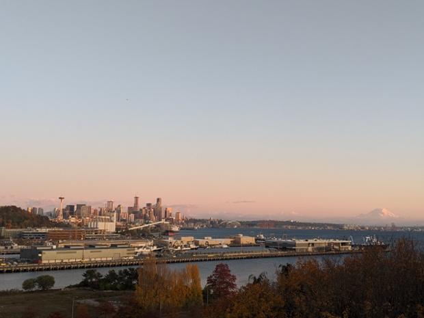 Sunset ... in Seattle, Washington