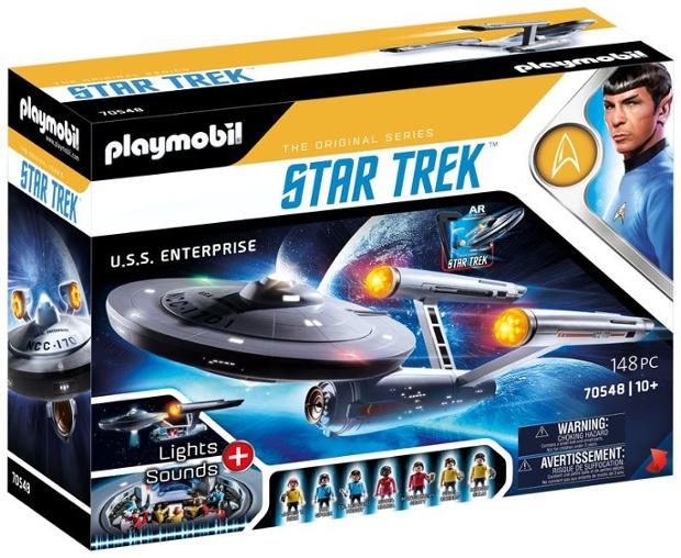 Playmobil unveils epic Star Trek USS Enterprise NCC-1701 playset