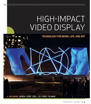 Gated eBook: High Impact Video Display