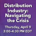 "Don't miss this Alan Beaulieu webinar -- ""Distribution Industry: Navigating the Crisis"""