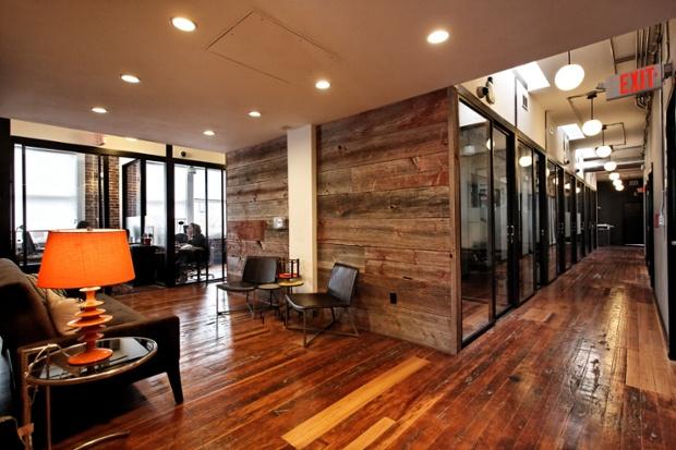 Empty office buildings were turned in housing