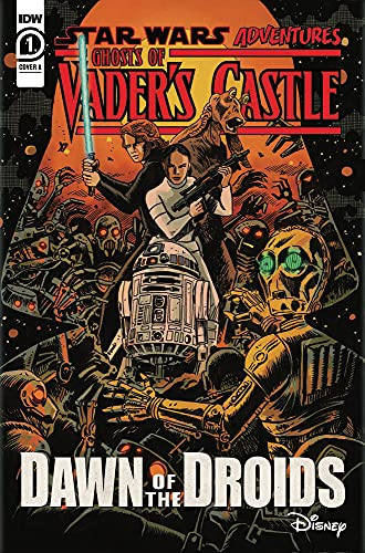 Star Wars and Halloween collide in IDW's 'Ghosts of Vader's Castle' miniseries (first look)