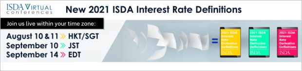 Upcoming conferences on the New 2021 ISDA Interest Rate Definitions - August & September 2021