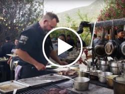 Grilling in Baja's Valle de Guadalupe