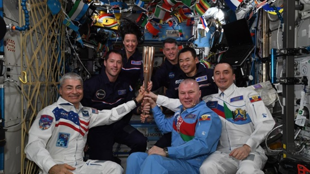 Astronauts celebrate Tokyo Paralympics opening day with 'torch' ceremony in space