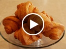 Making croissants at the Model Bakery