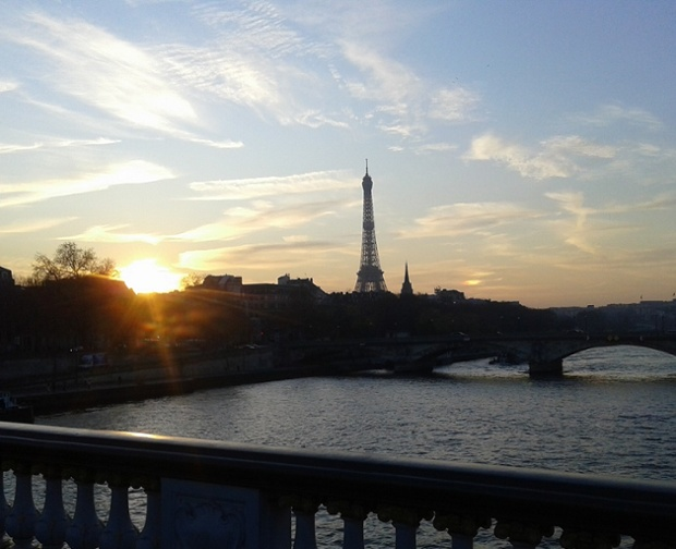 Sunrise ... in Paris