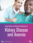AKF report: Perspectives on kidney disease and anemia