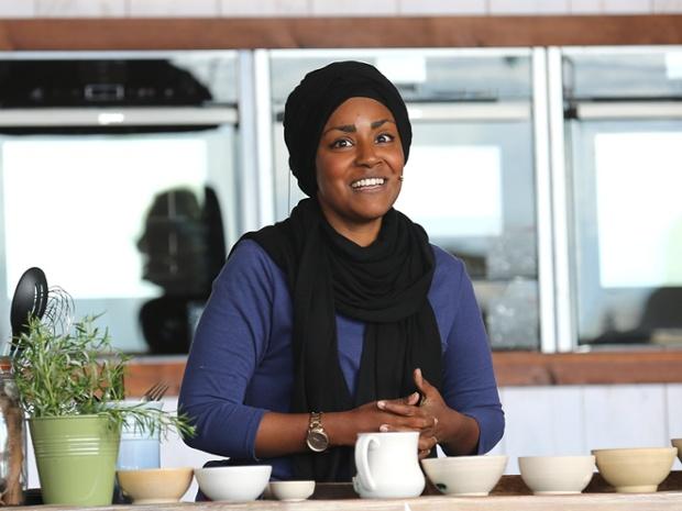 British baking star Nadiya Hussain dishes on her new book