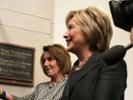 Political ads cast Clinton and Pelosi in negative light
